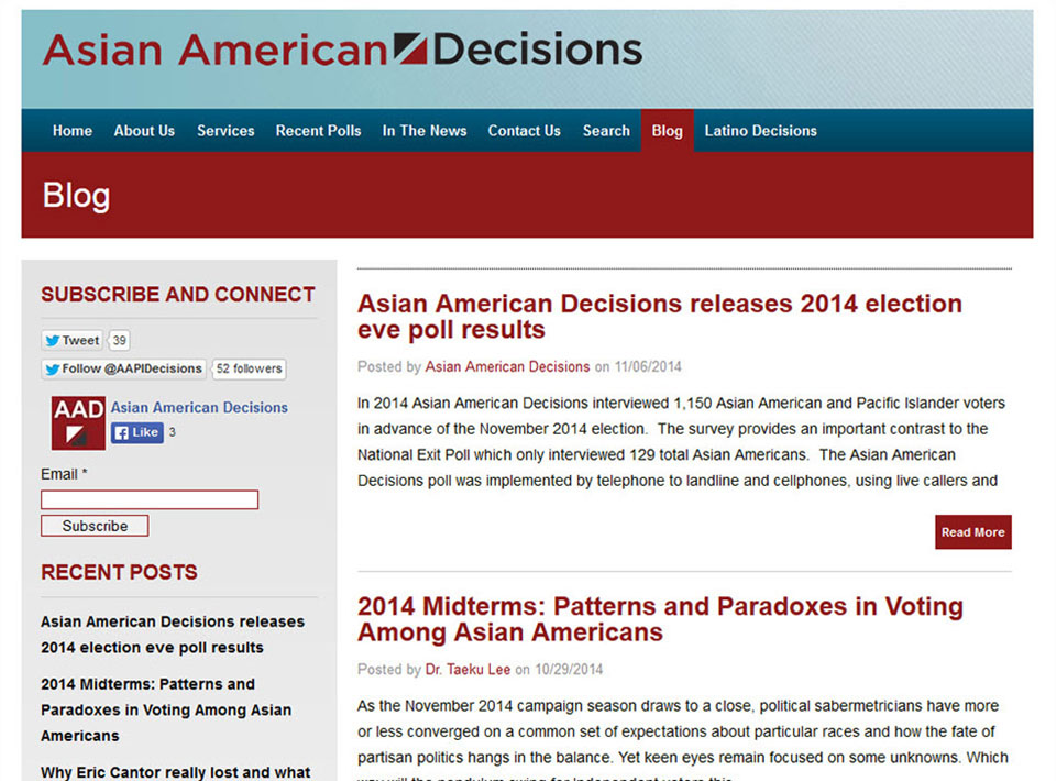 Image of asianamericandecisions.com Blog