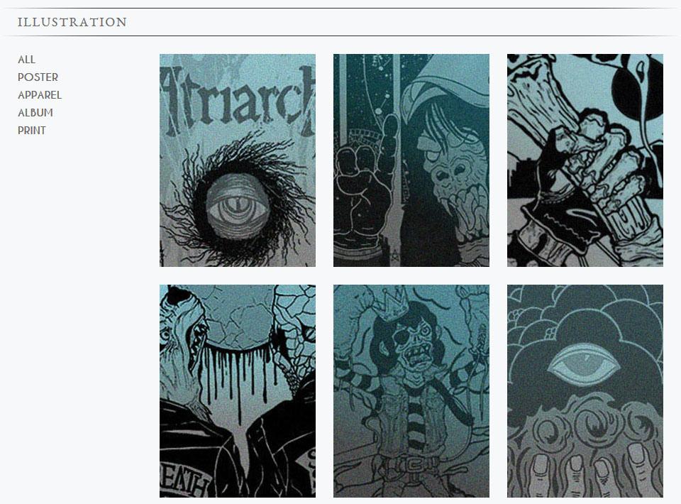 Image of adamvick.com Gallery Page
